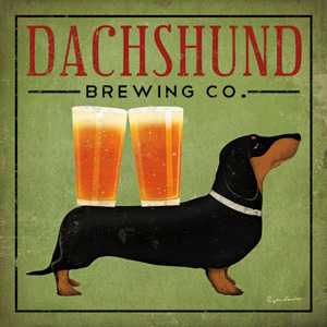 Dachshund Brewing Co. poster