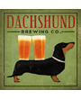 Dachshund Brewing Company dog art print