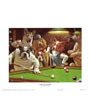Dogs Playing Pool, The Hustler by Arthur Sarnoff