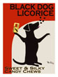 Wall Poster Black Dog Licorice