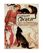 Clinique Cheron 1905 Dog Art Print by Theophile Alexandre Steinlen