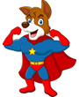 Clip Art Super Dog, Super Hero Dog