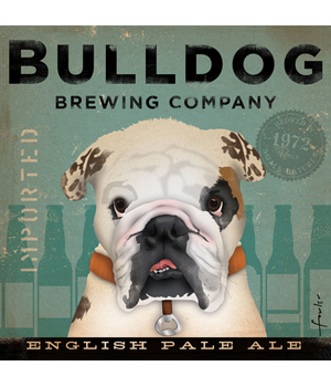 Bulldog Brewing Company Poster Stephen Fowler