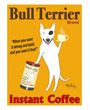 Dog Poster Ken Bailey Bull Terrier Brand