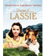 "Dog Movie Poster, Lassie and Elizabeth Taylor ""The Courage of Lassie"" 1946"