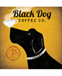 Dog Poster - Black Dog Coffee Company, Ryan Fowler