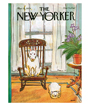 Dog Poster, Cover of The New Yorker March 12, 1979, White Bull Terrier