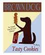 Brown dog tasty cookies poster, Ken Bailey